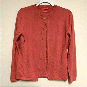 Peter Millar 4 Ply Cashmere Button Cardigan Set